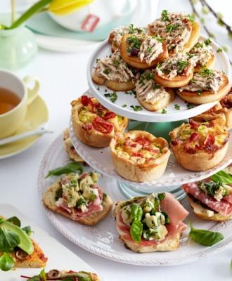 Heerlijk recept voor hartige mini quiche, lekker voor bij de paasbrunch