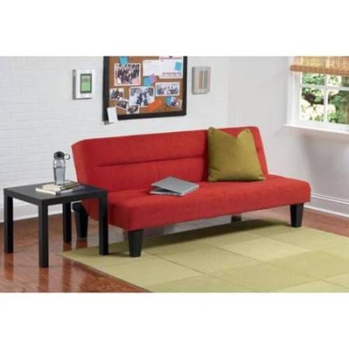 Futon Sofa Bed Microfiber Recliner Home Lounge Convertible Furniture NEW Red #1