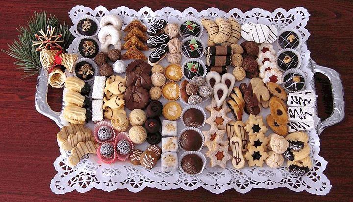 チェコのクリスマスのお菓子; czech christmas sweets  #Roboraion #christmas #sweets #food #culture #japanese #czech