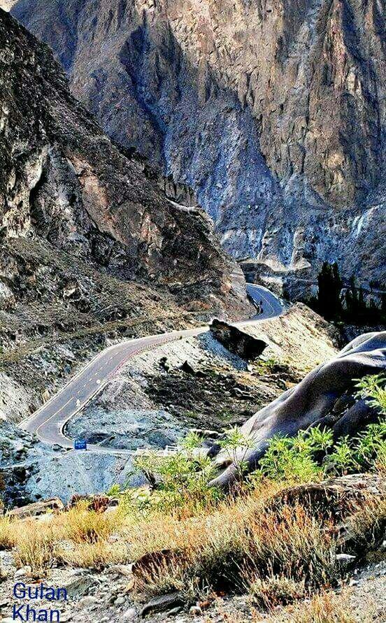 So fantastic photography of Karakoram highway Hunza valley Gilgit Baltistan Pakistan