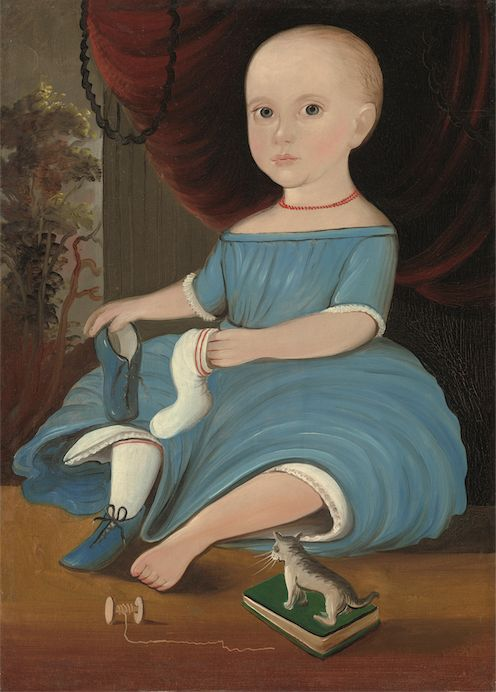 Securing the Shadow: Posthumous Portraiture in America | American Folk Art Museum