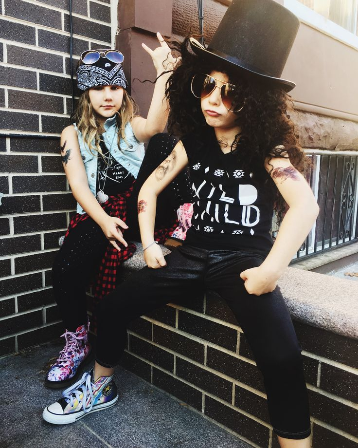 Guns N Roses Axl & Slash Costume by Fab Philly Mom by Sari Marissa