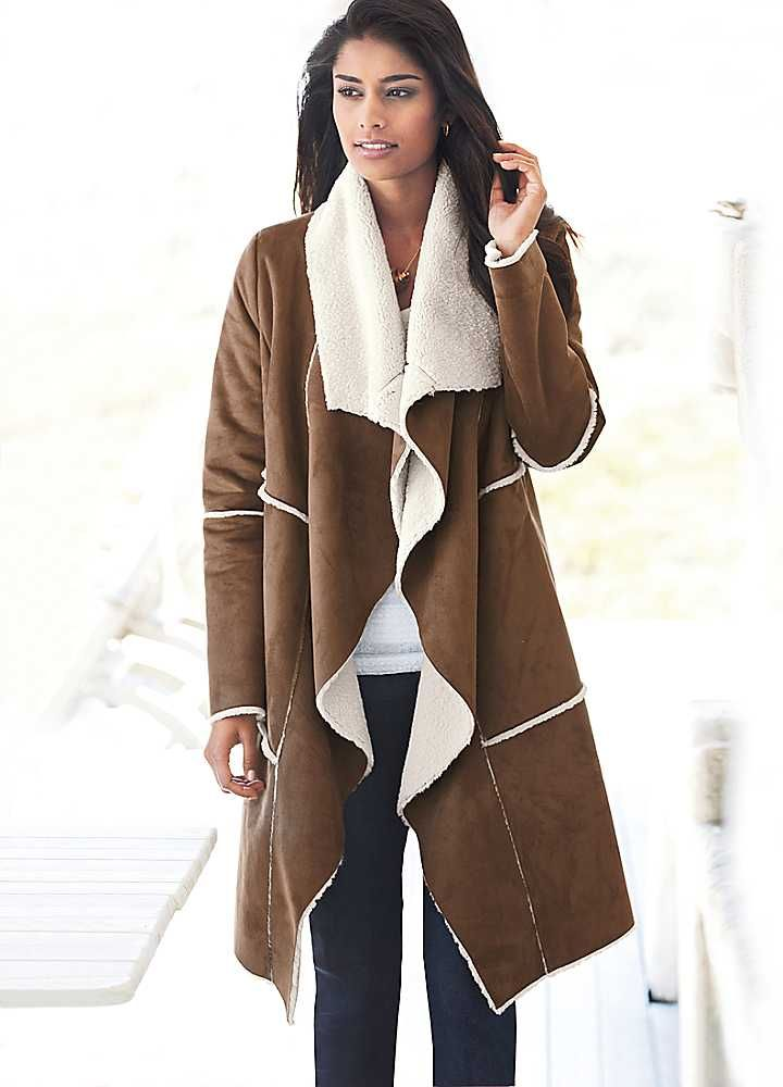 21 best Дубленки images on Pinterest | Sheepskin coat, Shearling ...