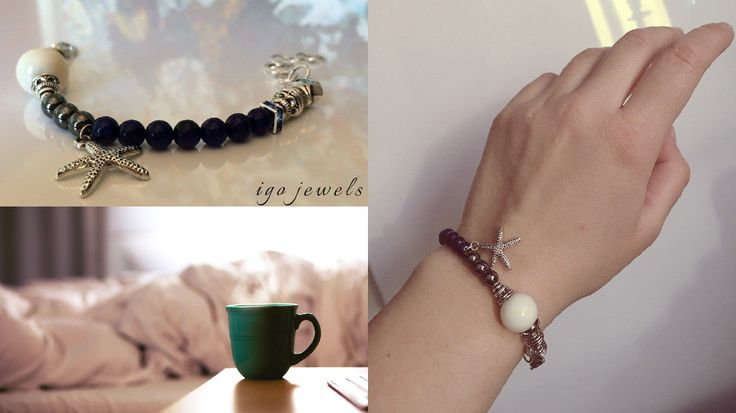 ARTIST's Bracelet Materials: Tibetan Silver, Pandora Charms, Lapis Lazuli, Hematite, Pearl, Swarovski Crystals I've always believed that jewelry is an artistic way to express your style, your way o...