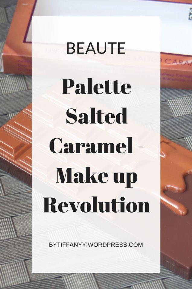 palette salted caramel makeup revolution