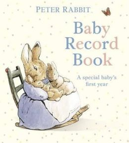 Peter Rabbit baby memory book, would likely match Carter's (prev. edition).