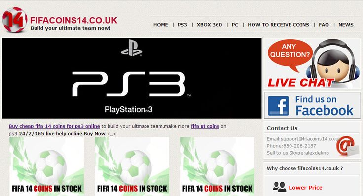 Buy FIFA ultimate team coins from http://www.fifacoins14.co.uk/ to build your ultimate team,make more FIFA 14 coins! 24/7/365 Live Chat Online Support!Buy Now! >> cheap ps3 fifa 14 coins, cheap ps3 fut coins, cheap ultimate team coins ps3, cheap ut coins ps3, cheapest fifa 14 coins ps3, cheapest fut 14 coins ps3, chep fifia coins for ps3, buy coins fifa 14 ps3 --> http://www.fifacoins14.co.uk/ps3.html