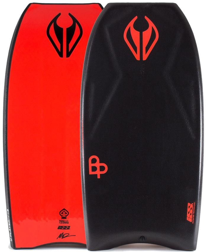 NMD BODYBOARDS Ben Player ISS Quad Concave PFS-3 Polypro Core - 2016/17 Model