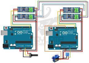 Arduino RS485 full duplex