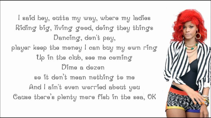 Rihanna ft. Nicki Minaj - Raining Men [lyrics]
