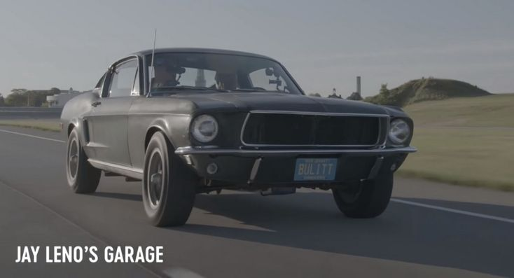 Jay Leno Gets A Taste Of The Original Ford Mustang Bullitt #news #Classics
