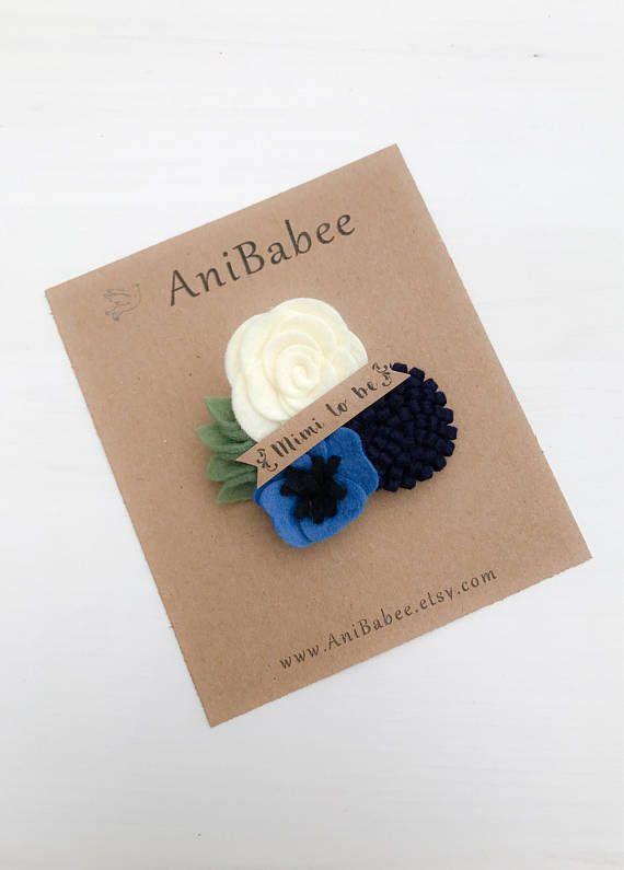 Aunt to be Corsage, Baby Shower Corsage, Corsage, Felt Flower Corsage, Mommy to be Corsage, Flower Corsage, Bridal Shower Corsage