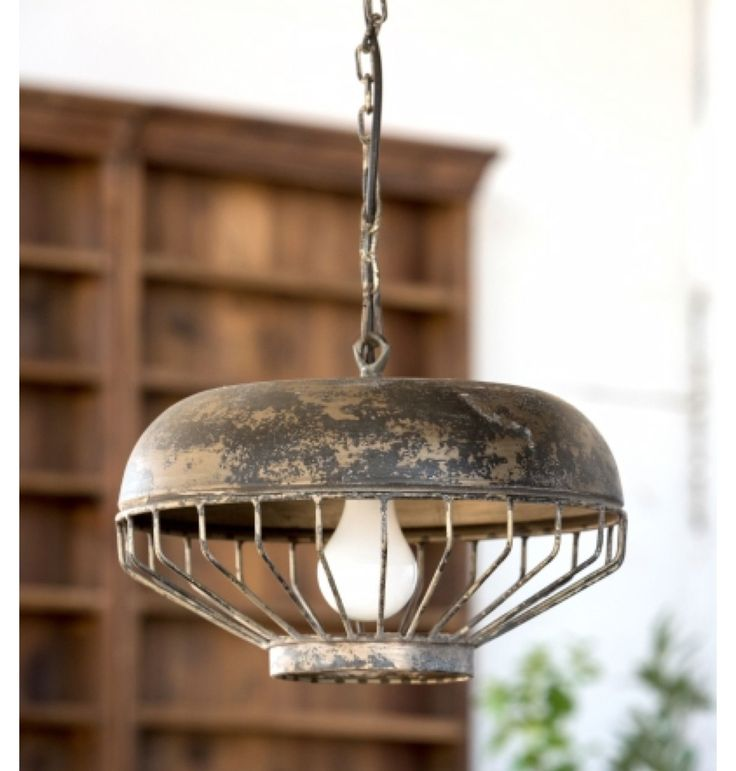 """Made of metal. Uses one 75 watt bulb max, not included. Hard wire only. Chain and canopy cover measure 40.5"""". Dimensions: 15"""" x 15"""" x 12"""" H."""