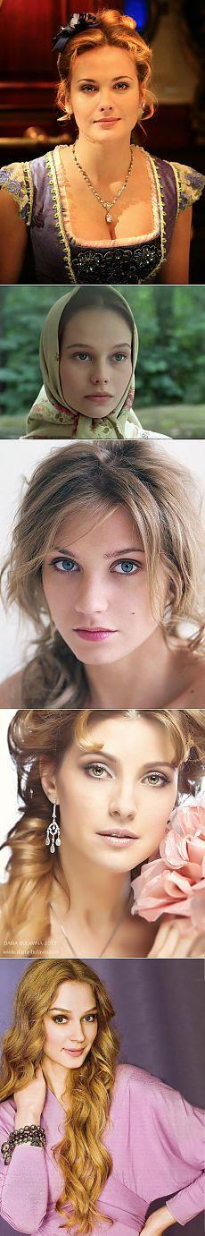 Самые красивые современные русские актрисы (17 фото) | У нас все звезды