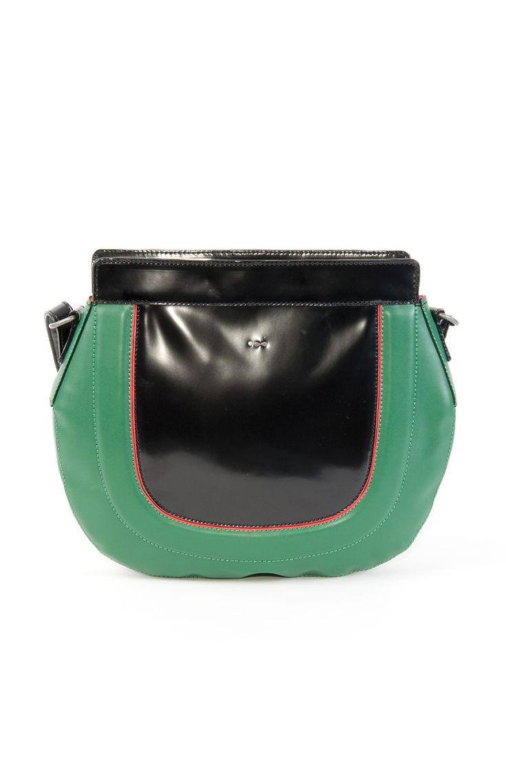 ABRIL women's bag fabric content: 100% polyurethane color: orange,black,green price: $95.00