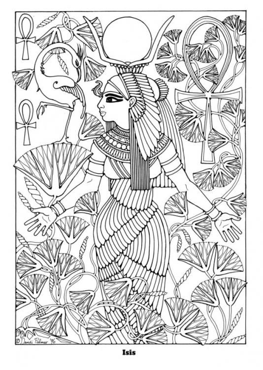 238 best Egyptian images on Pinterest Ancient egypt, Egyptian art - best of coloring pages of king midas