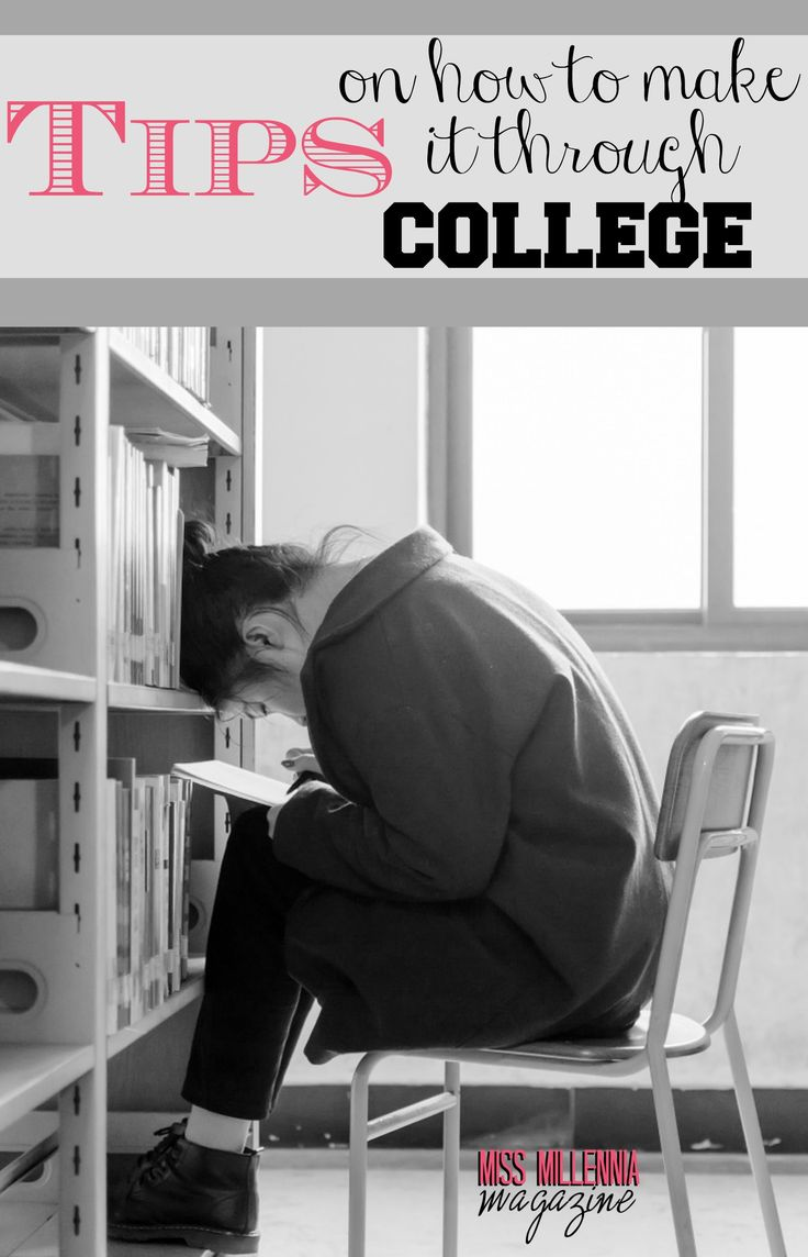 8 Tips on How to Make it Through College