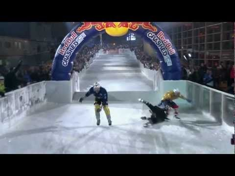 MINI connects Facebook to the Red Bull Crashed Ice with RFID - YouTube
