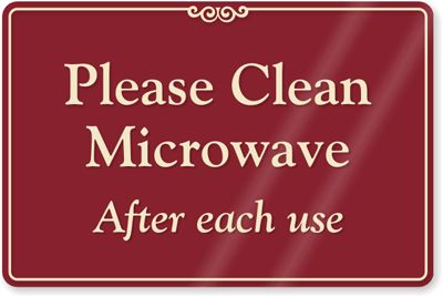 Printable Keep Breakroom Clean Signs | Please Clean