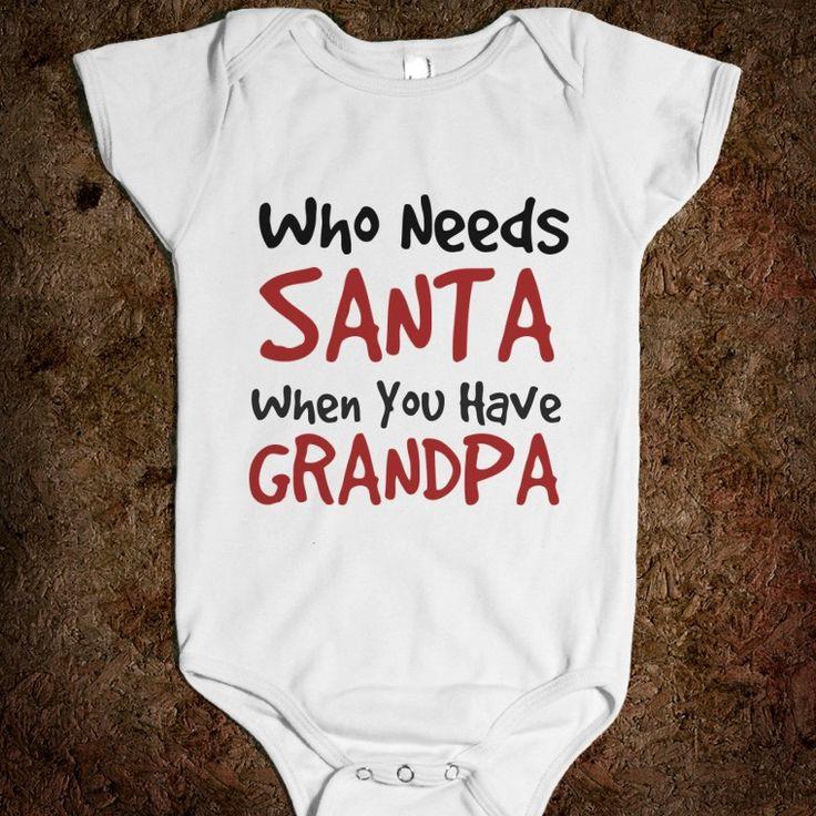 who needs santa when you have grandpa