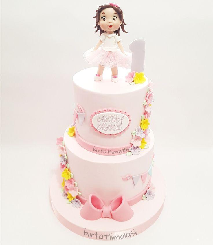1 yaş pastası  First birthday cake