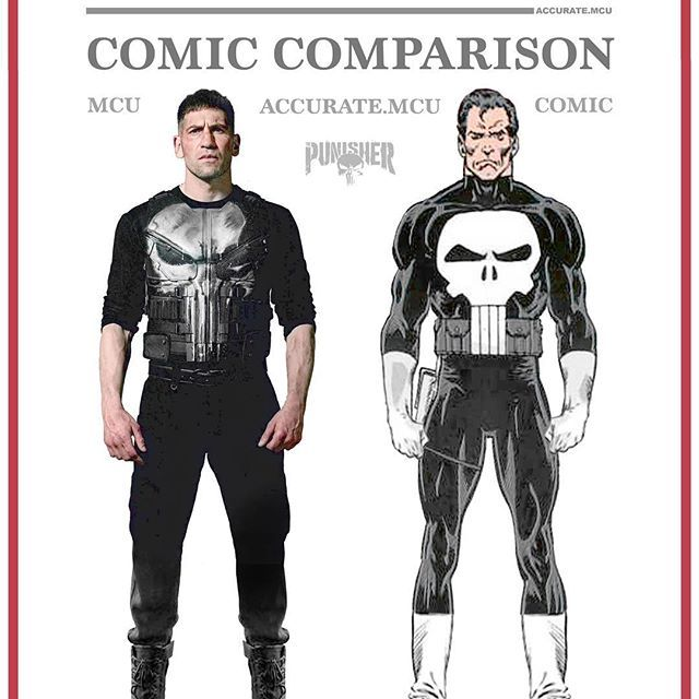 • THE PUNISHER - COMIC COMPARISON 2.0 • Yesterday some new Punisher promo photos got released so I finally managed to make a punisher comparison that I'm proud of. I really can't imagine anyone else playing MCU's punisher. @jonnybernthal is so perfect as Frank Castle. I'm so excited for his solo series, everything about it looks good. What do you think of the Punishers MCU look ??? let me know in the comments below and rate his look from 1/10✌️ ———————————————————— #marvel #mcu #ironman…