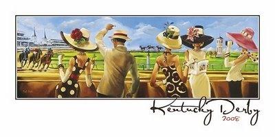 Kentucky Derby artwork