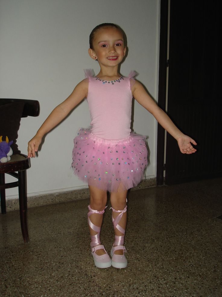 Disfraz de bailarina de ballet! que linda bailarina!