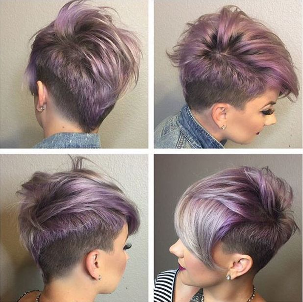 cheap stock photos light purple short hair colour