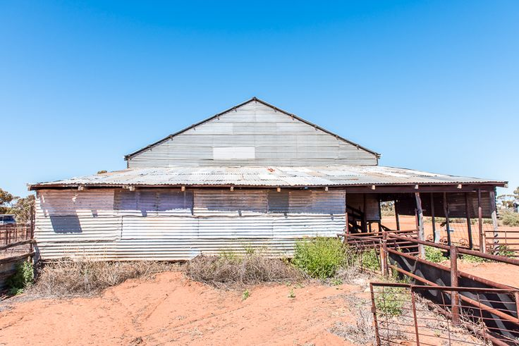 Abandoned Outback Shearing Shed - Eastern Goldfields Trip, Western Australia.