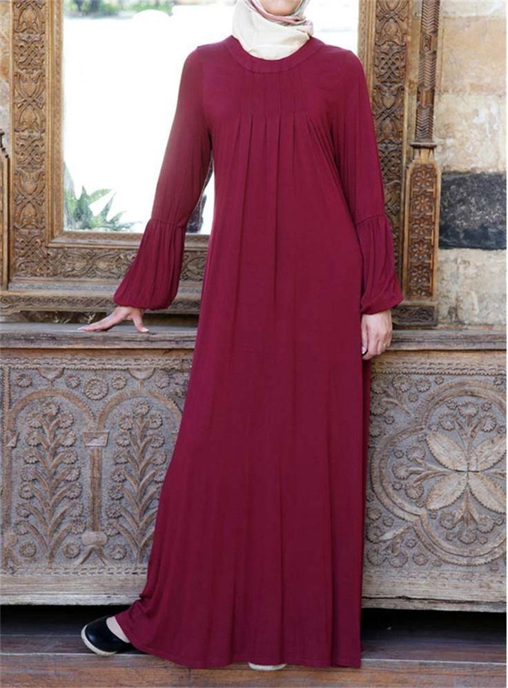 Rose Jersey Jilbab