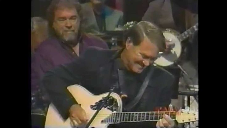 "Glen Campbell - Gentle on My Mind (terrific guitar break)  ... ""that you're waiting from the back roads, by the rivers of my memories, ever smilin', ever gentle on my mind"".... ♥"