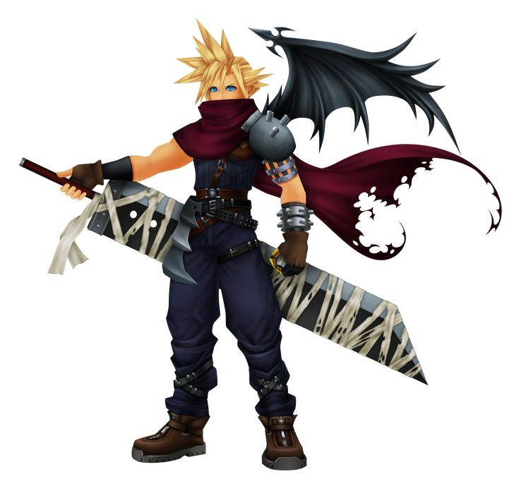 Kingdom Hearts costume (Cloud)