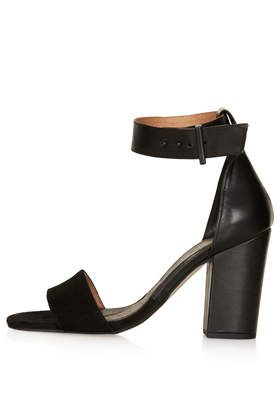 RAMBLE Leather Sandals - Heeled Sandals - Heels - Shoes