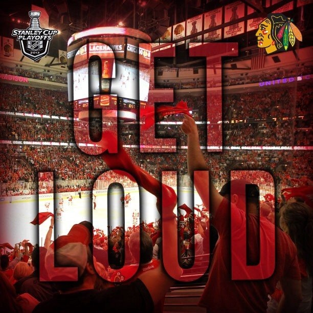 I want to go to a @Chicago Blackhawks game