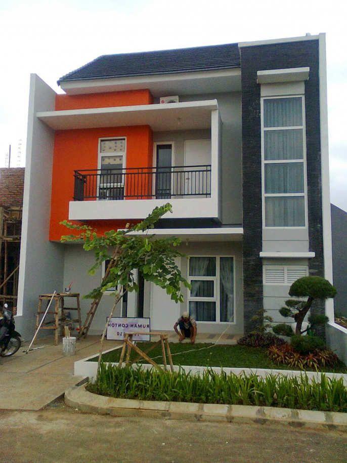 Model Desain Rumah Minimalis 2 Lantai Sederhana Desain Rumah