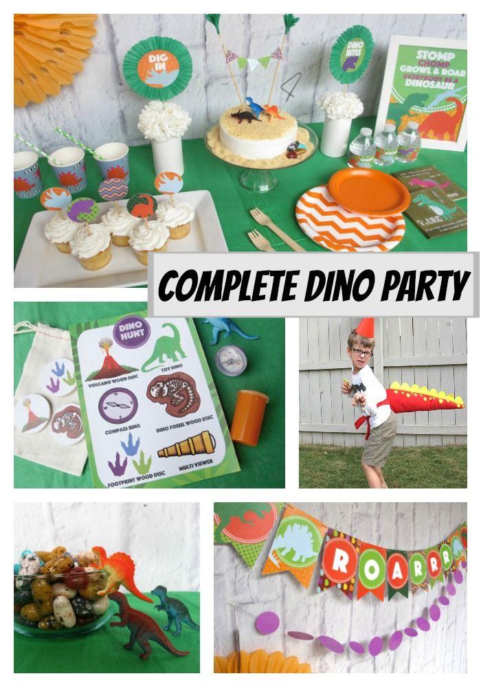 8 best Dinosaur Birthday Party images on Pinterest Dinosaur