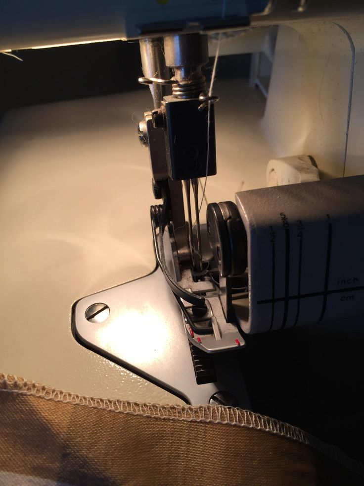 Bought a Bernina serger for $15 from Goodwill. Power cord finally arrived today and it worked! I almost cried with joy. #sewing #crafts #handmade #quilting #fabric #vintage #DIY #craft #knitting