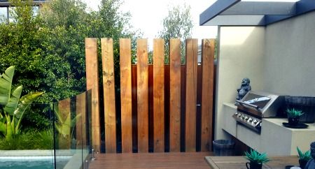 Garden Privacy Screens Define, Separate and Protect
