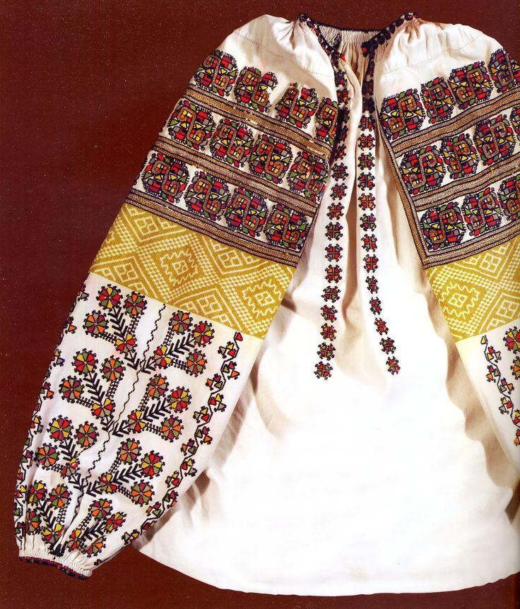 FolkCostume&Embroidery: Embroidery of Zastawna county, Cherniwtsi oblast, Bukovyna, Ukraine