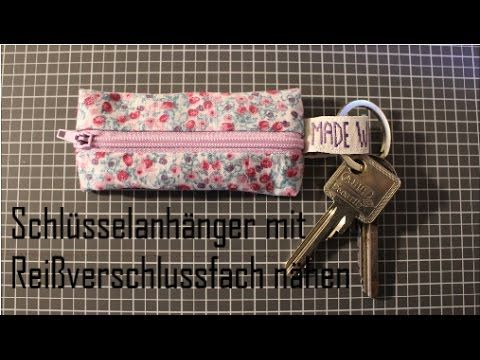 Schlüsselanhänger nähen | Joina215 - YouTube