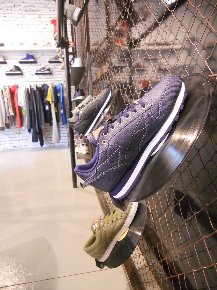 #reebok #jkrproductions #showroom #monza #setup #shoes #sport #vinyls