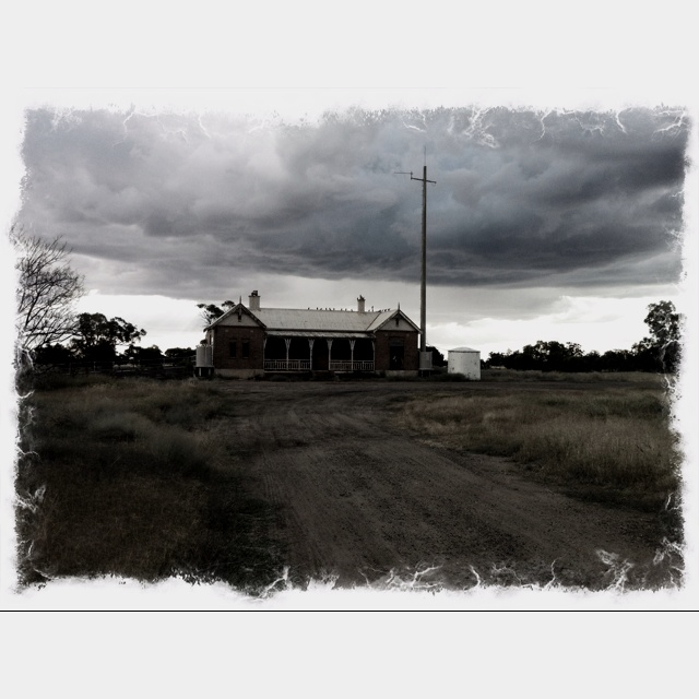 Deserted railway at Coonamble, NSW