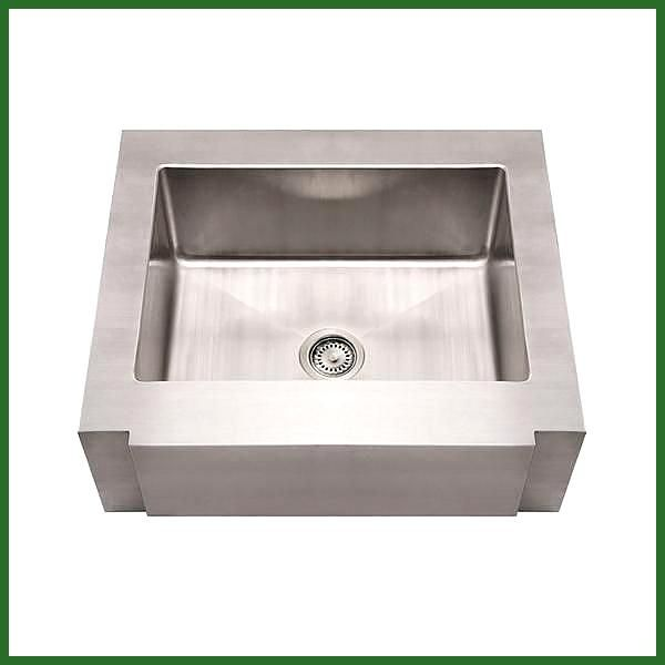 Edelstahl Bauernspule 30 Single Bowl Schallisoliert Whitehaus Whncmap30 Stainless Steel Farmhouse Sink Stainless Farmhouse Sink Apron Front Kitchen Sink