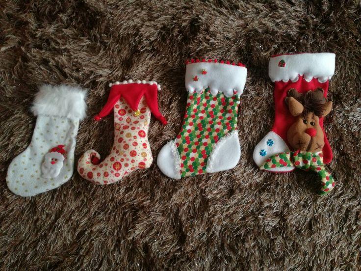Botas navideñas