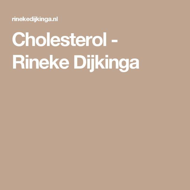 Cholesterol - Rineke Dijkinga