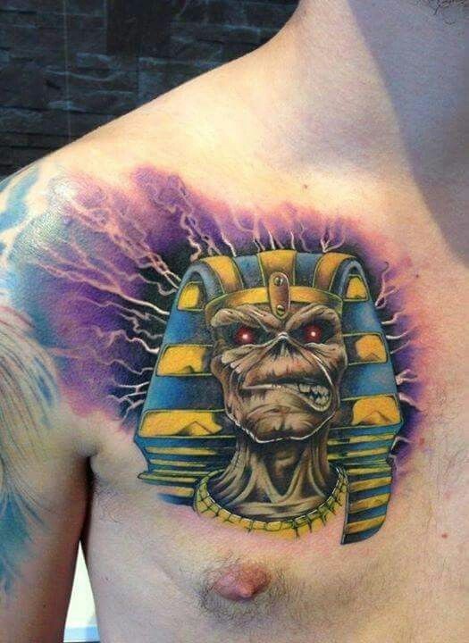 Powerslave! | Tatts | Tattoos, Iron Maiden, Watercolor Tattoo