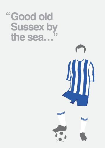 Brighton & Hove FC commissioned by Cuckfield Candy Store & More, Brighton, UK.