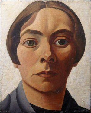 Charley Toorop, Zelfportret, 1928, 33 x 27 cm. Fotograaf: Ernst Moritz. Museum Boijmans Van Beuningen, Rotterdam