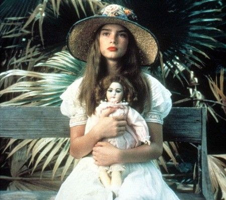 Brooke Shields.... pretty baby..